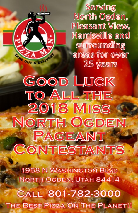 PizzaMan Miss North Ogden Pageant Program 05-25-18
